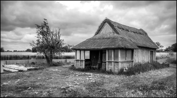 Boat House on the Norfolk Broads