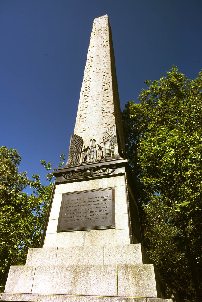 Cleopatra's Needle, River Thames Embankment