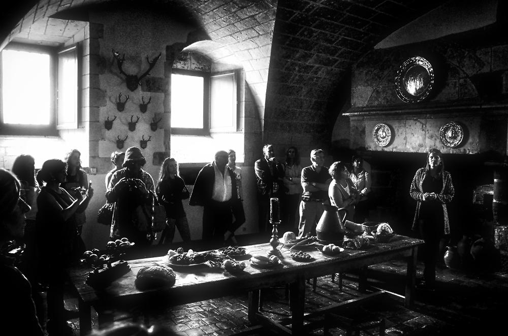Repas mediéval - tour guidé d'un château