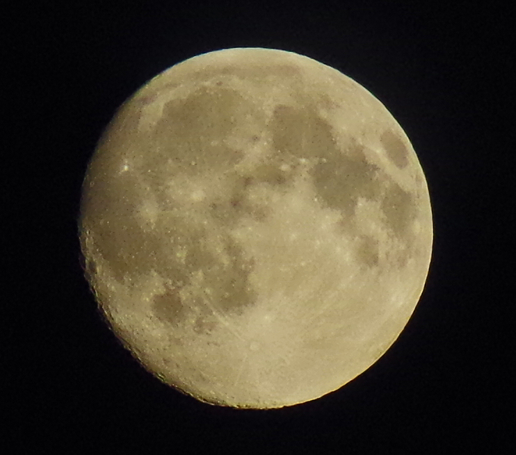 What else...the Moon.