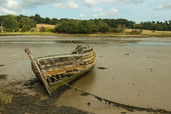 Abandoned on the Deben