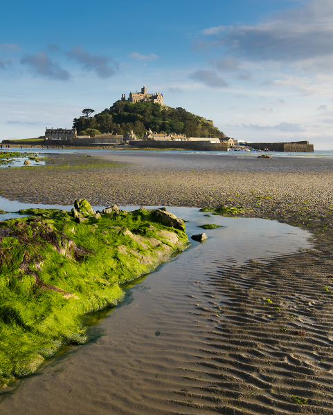 Low tide at the Mount