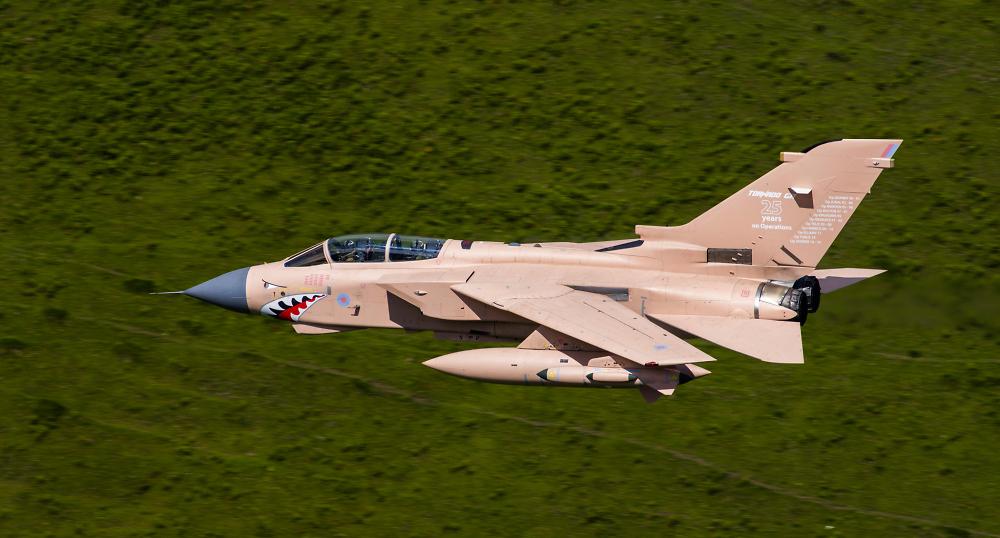 Granby desert pink RAF Tornado.