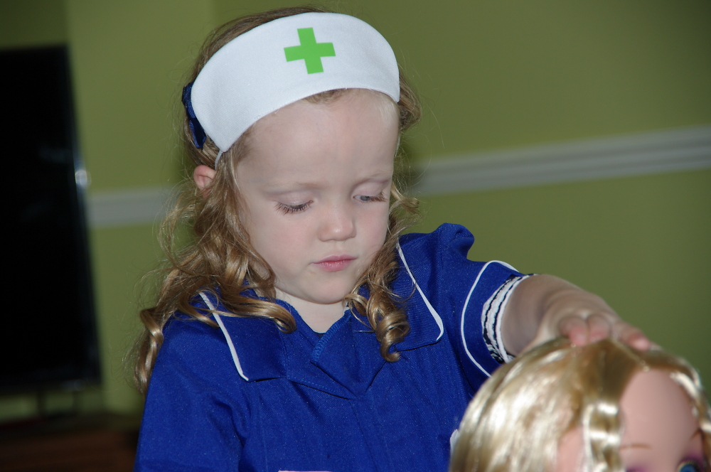Nurses are much younger these days