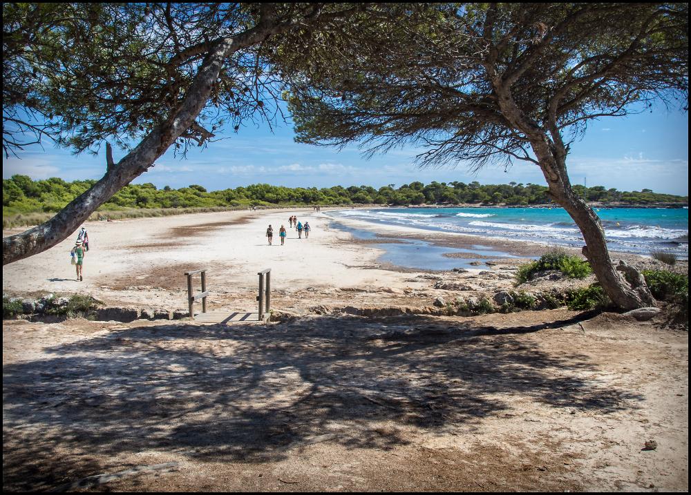Platya d'es Banyul, Son Saura, Menorca