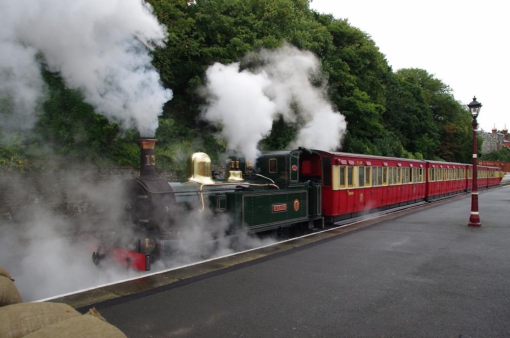 Steamy Departure