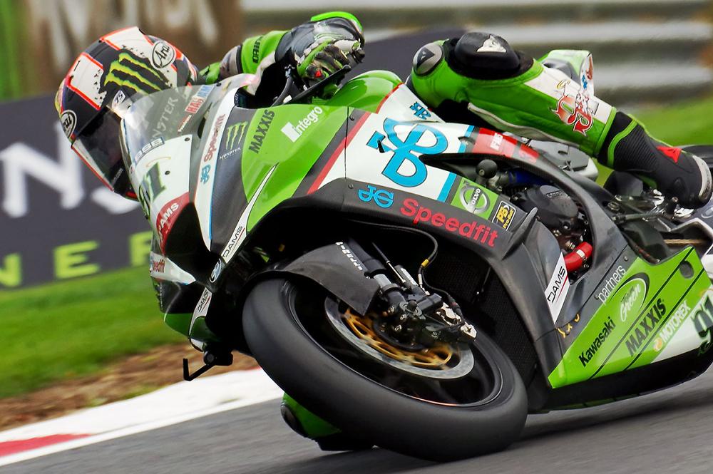 British Superbike Rider