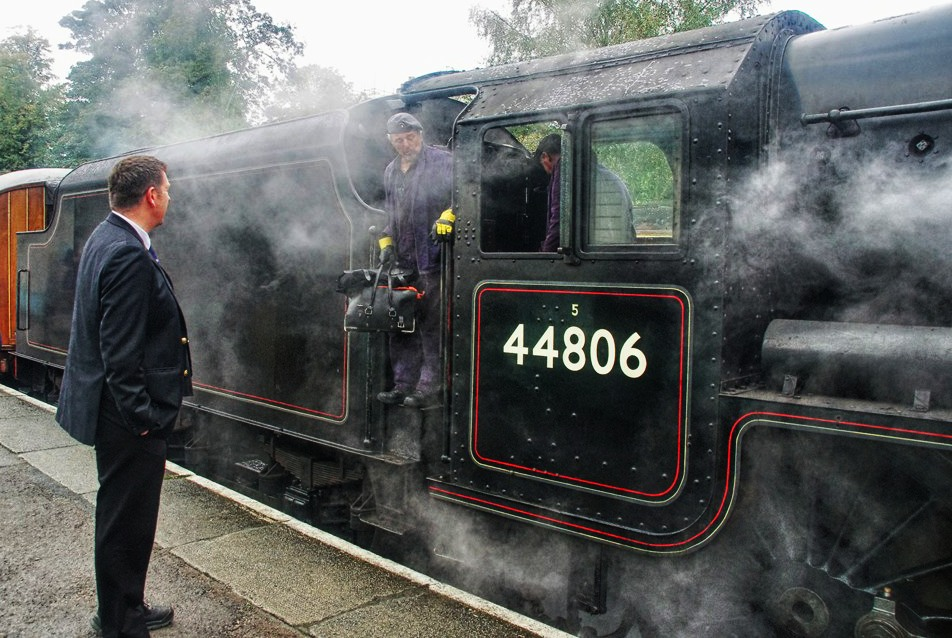 Changing Crew at Grosmont
