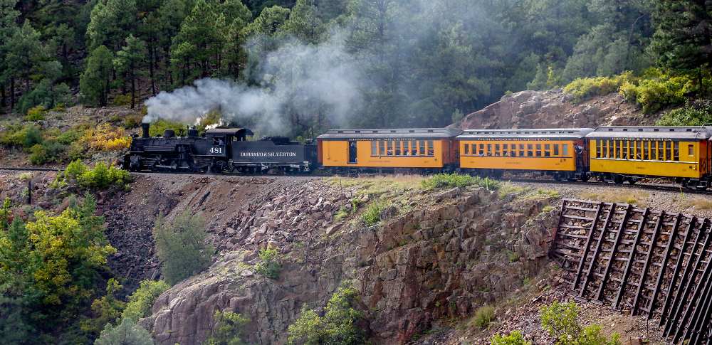 Durango & Silverton Narrow Gauge Steam Railway