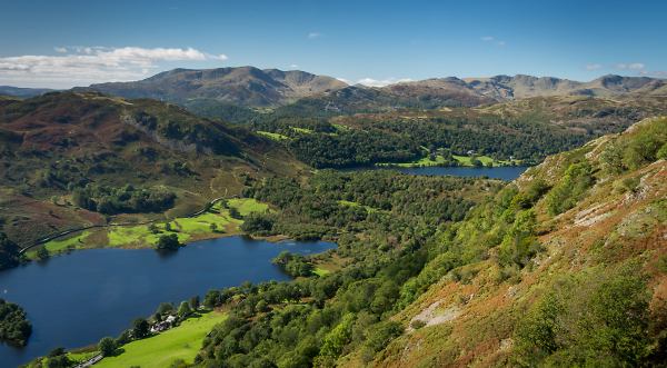 Rydal Water and Grasmere
