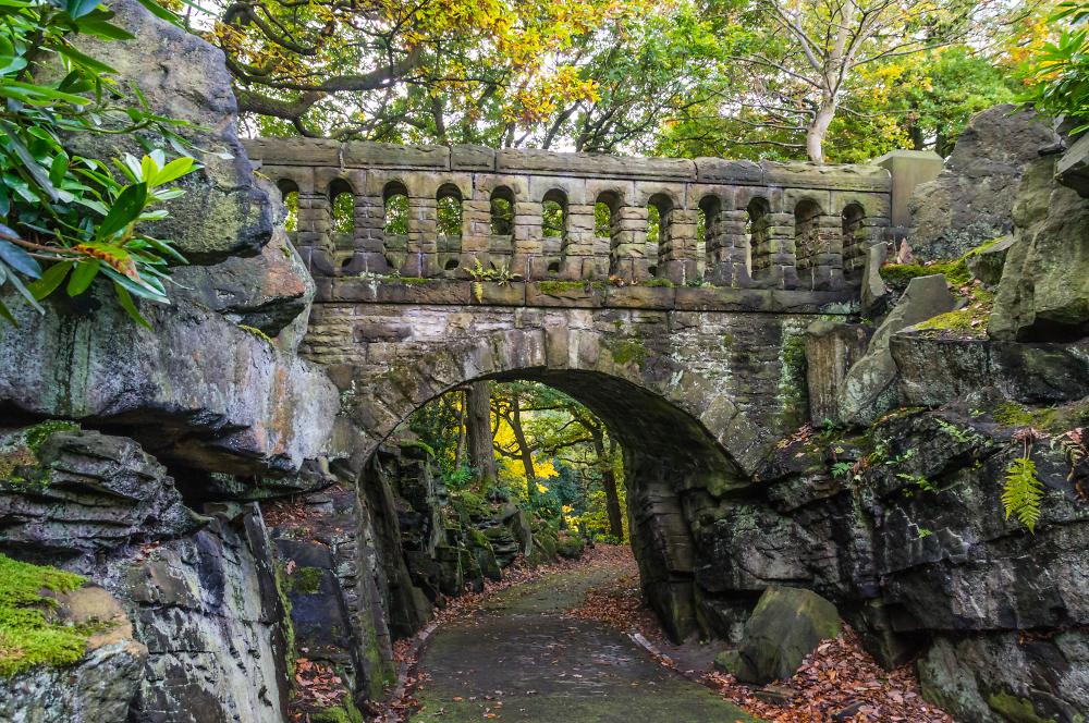 A Corner of Beaumont Park - Huddersfield