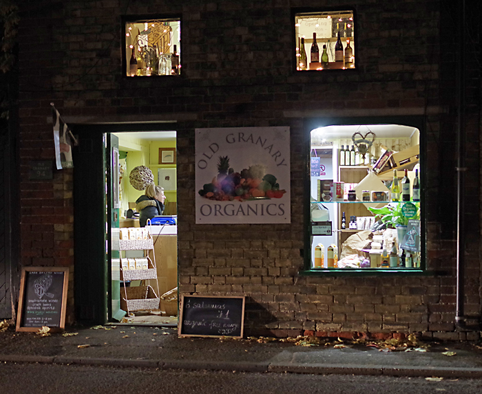 The shop across the street