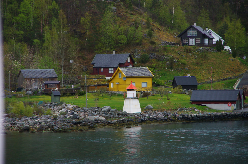 Village on the approach to Olden Norway