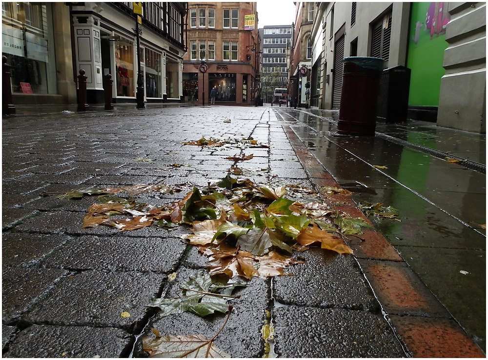 Wet Manchester Streets