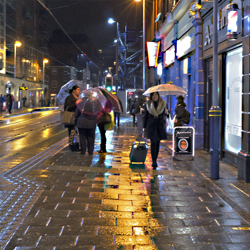 Wet Night in Sheffield