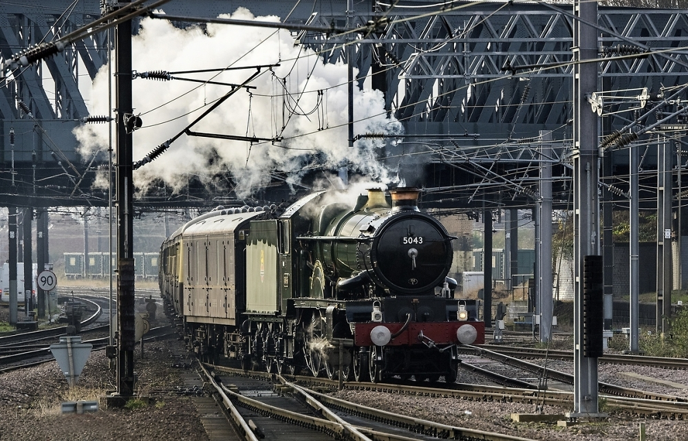 Steam  at York