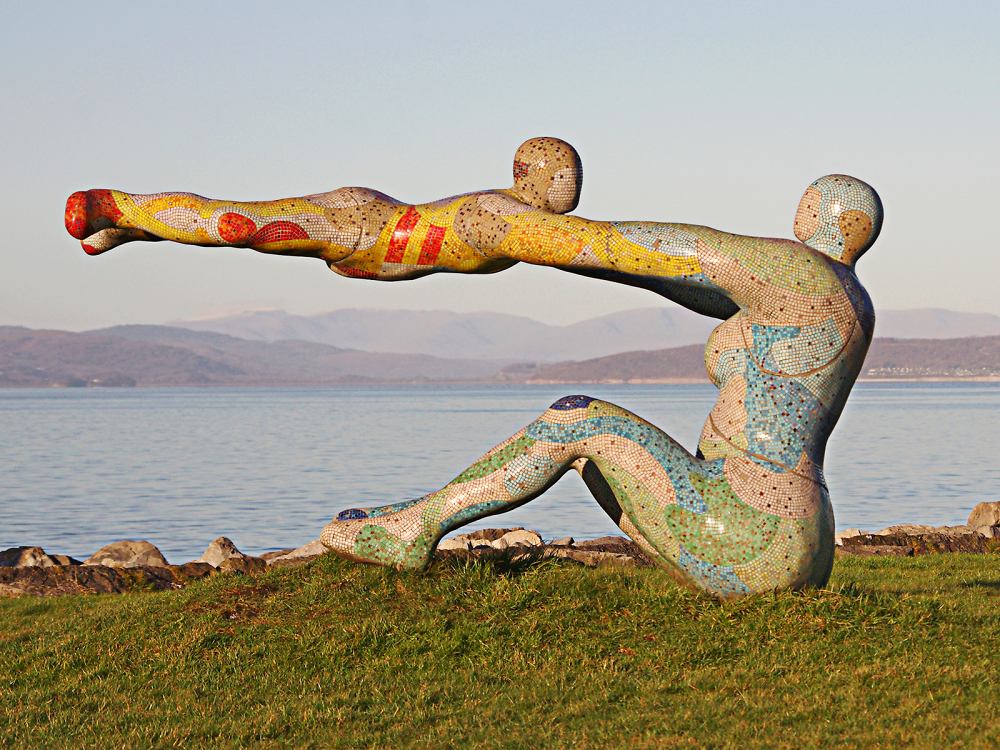 Mother and Child Statue - Morecambe