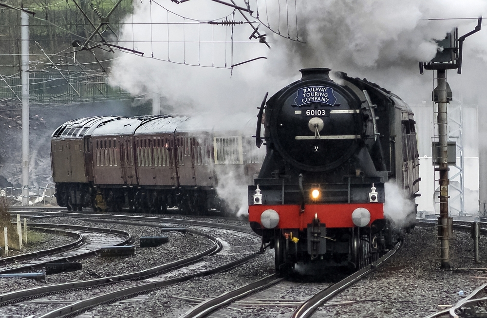 Scotsman at speed
