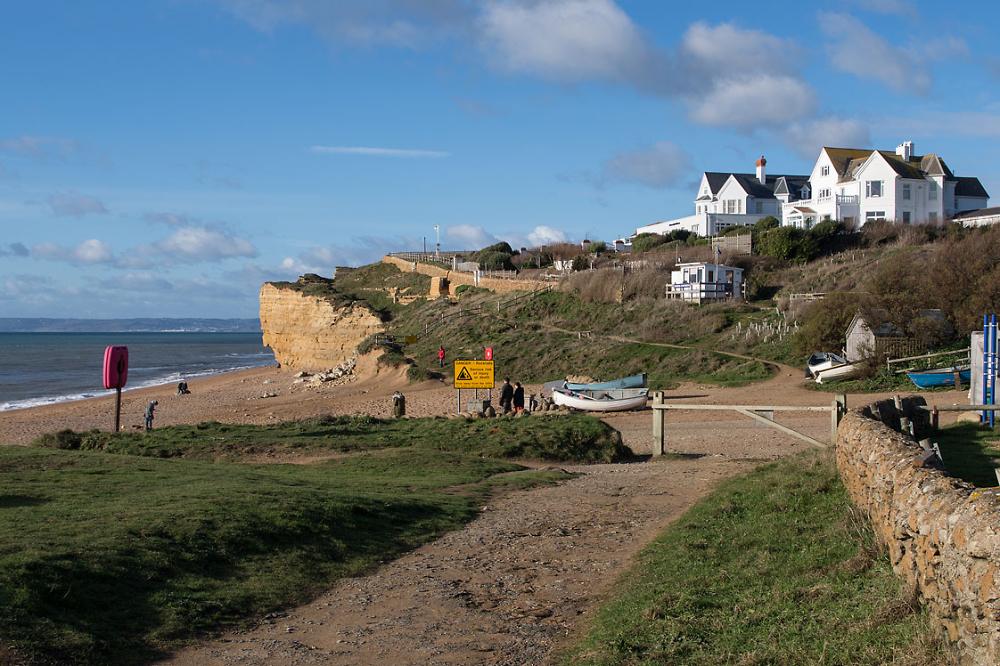 The Beach at Burton Bradstock