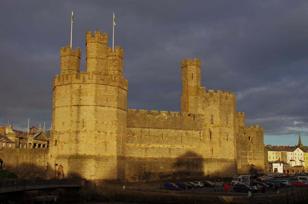 Caernarfon Castle Gold