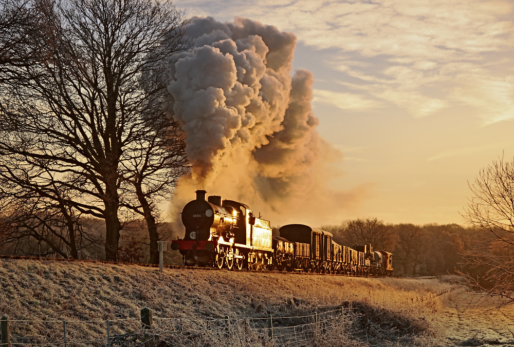 Frosty Morning Steam