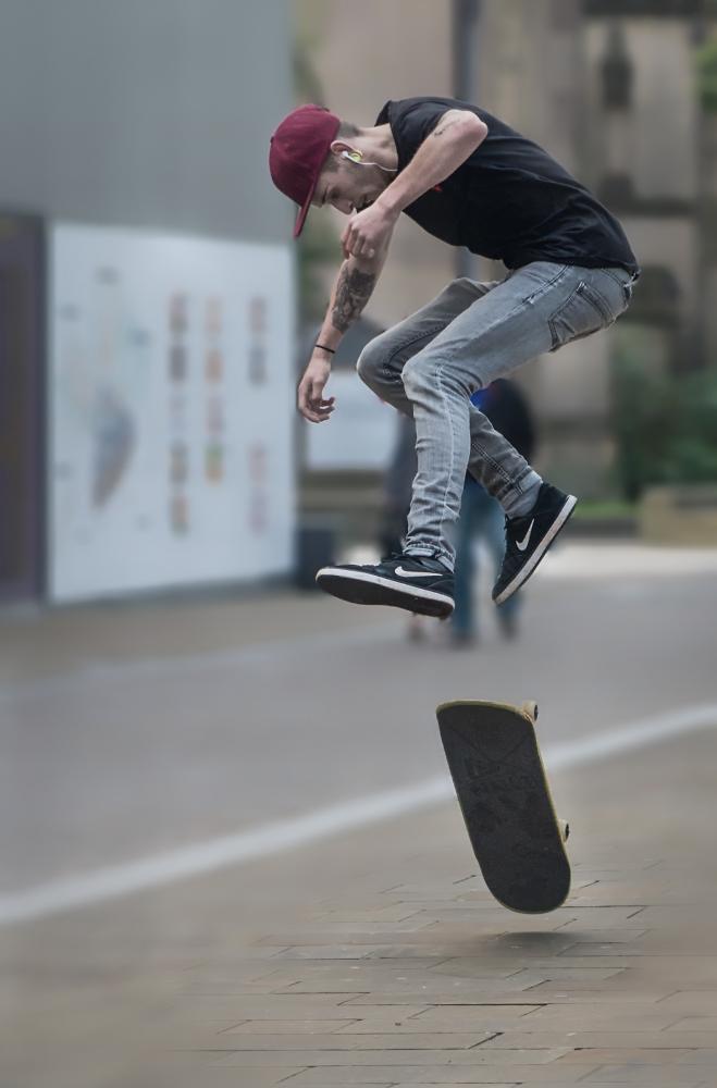 Street boarder