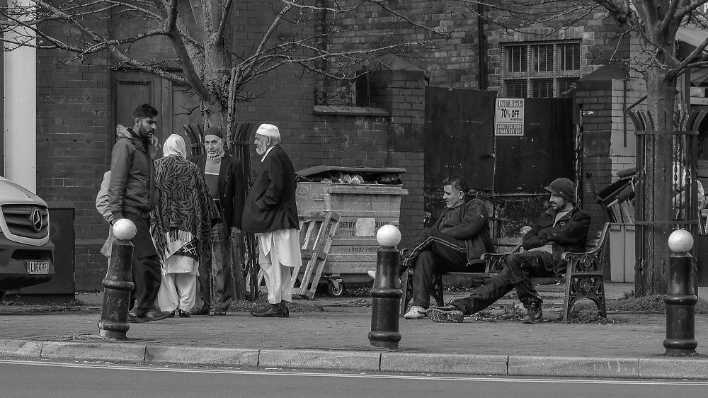 Street life in Normanton Derby
