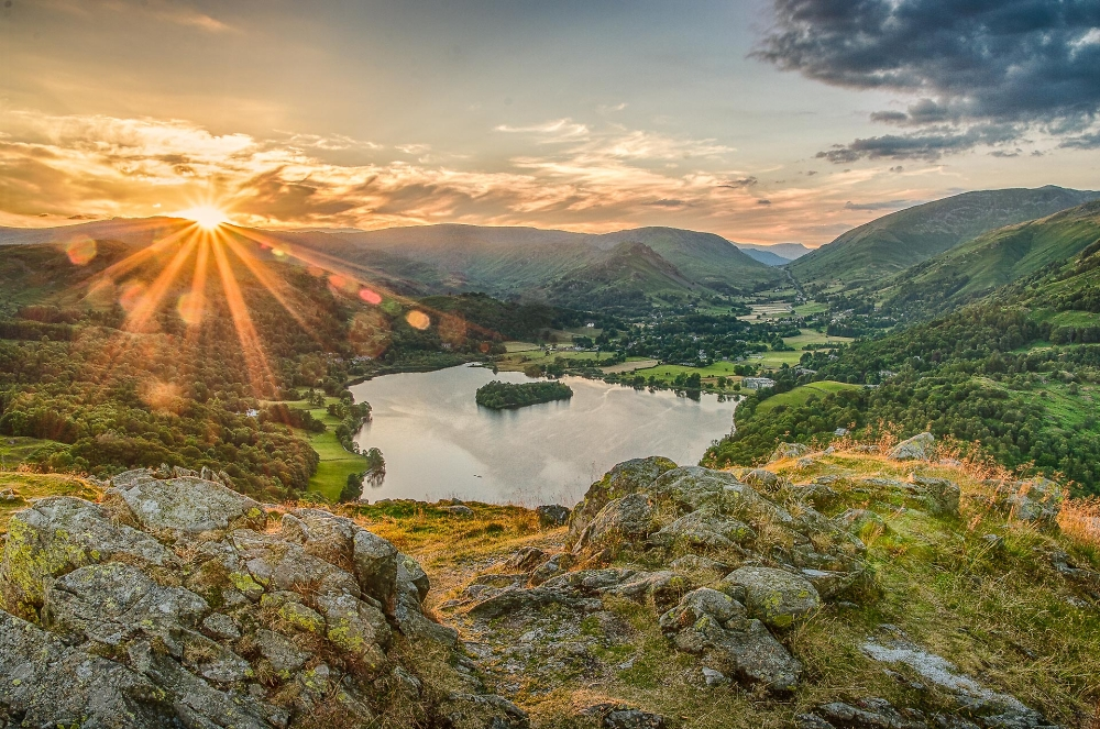 Sunset over Grasmere