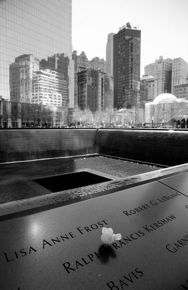 New York -- 9/11 memorial