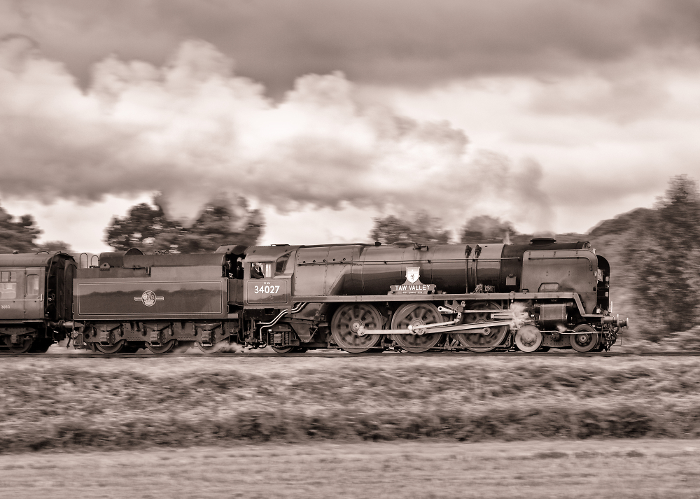 Taw Valley at Speed