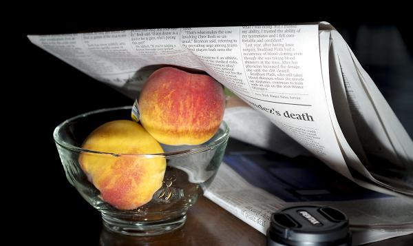 Do I Dare to Eat a Peach?