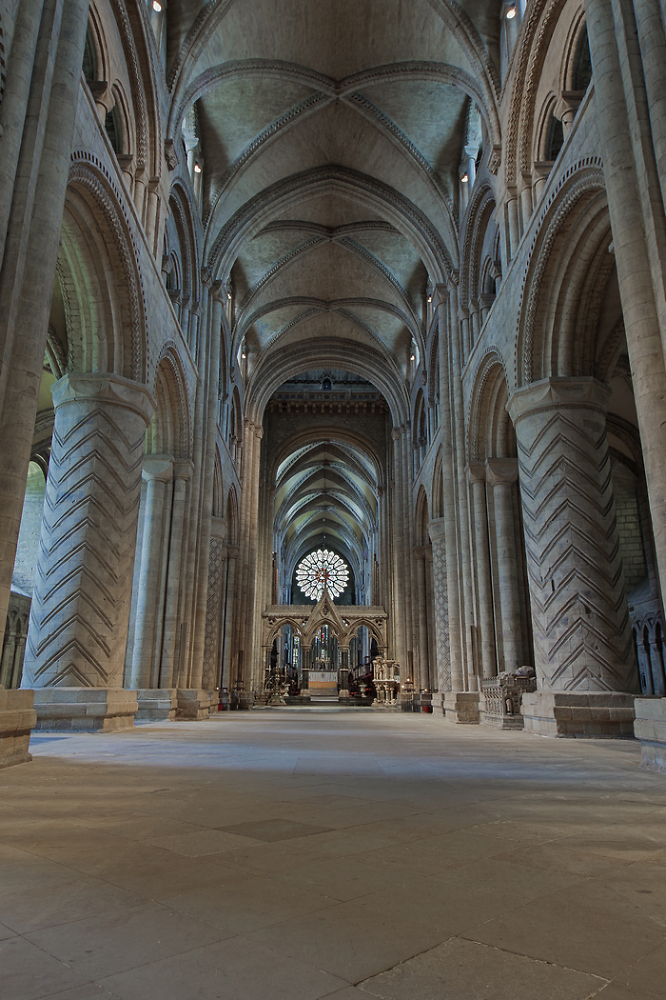 Durham Cathedral Without Pews
