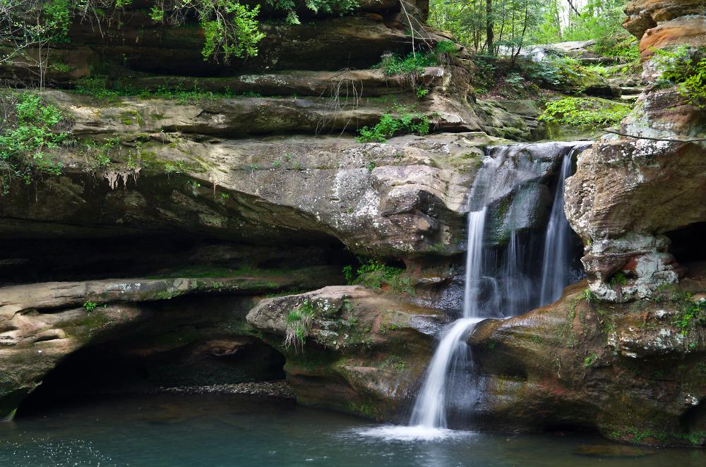 Upper Falls Old Man's Cave