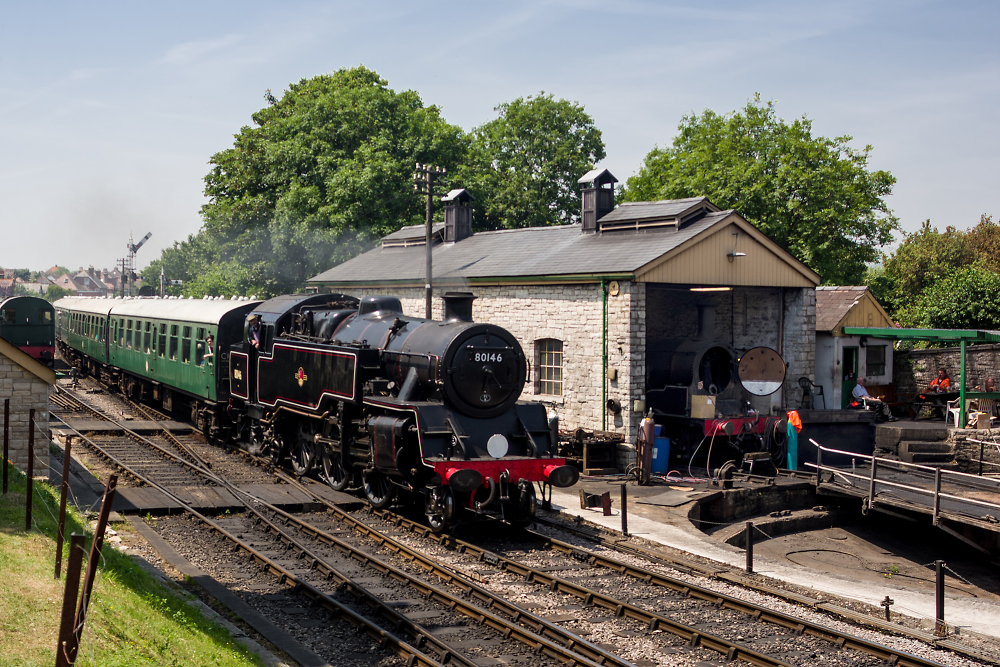BR Standard Class 4MT @ Swanage