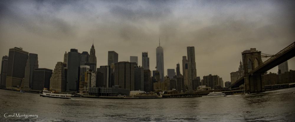 East River at Dusk