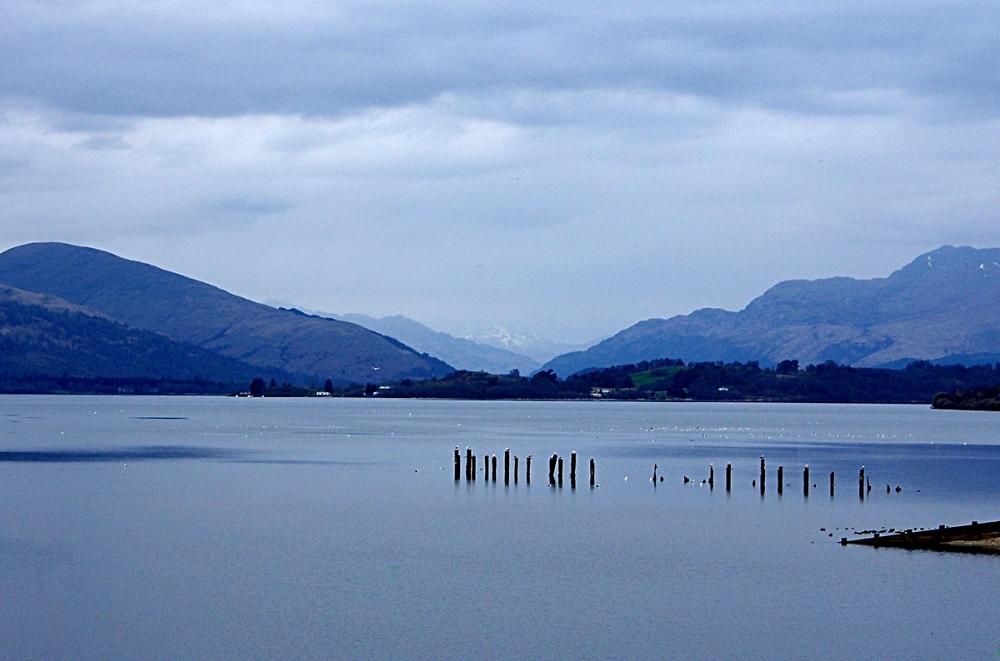 Loch Lomond in April