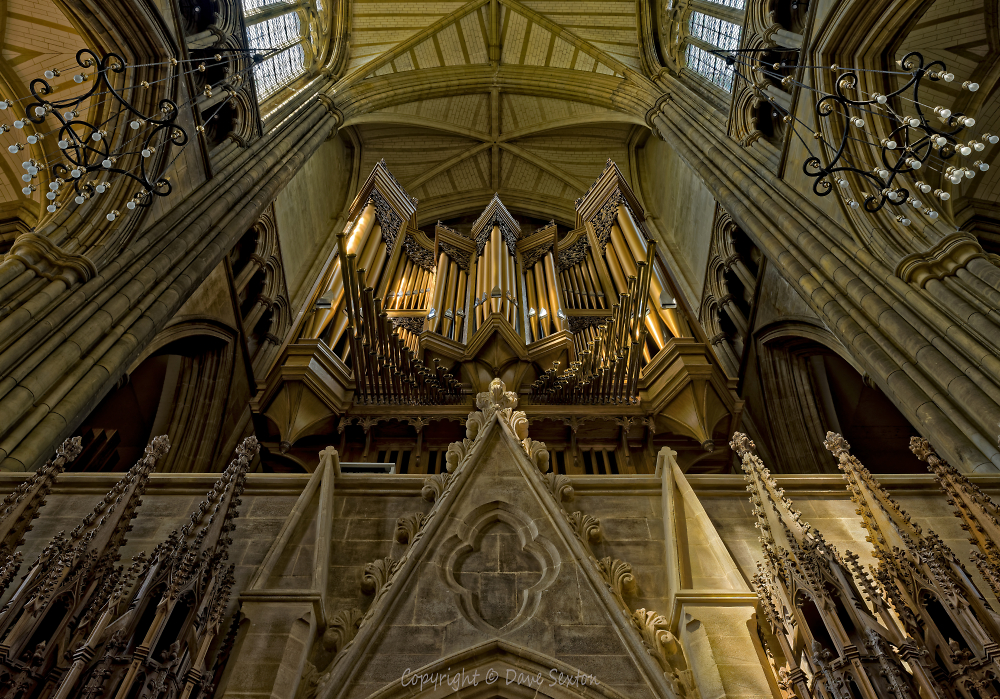 The Walker Organ at Lancing College Chapel