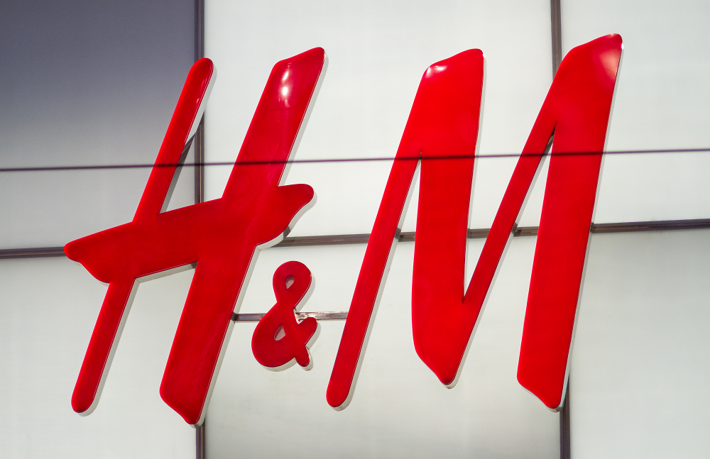 Very Large H&M Sign, Dundas Square, Toronto