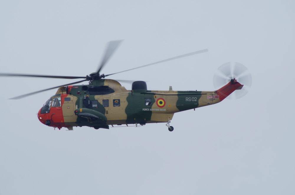 Belgian Air Force Seaking