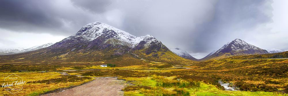 Glencoe Scotland Panorama