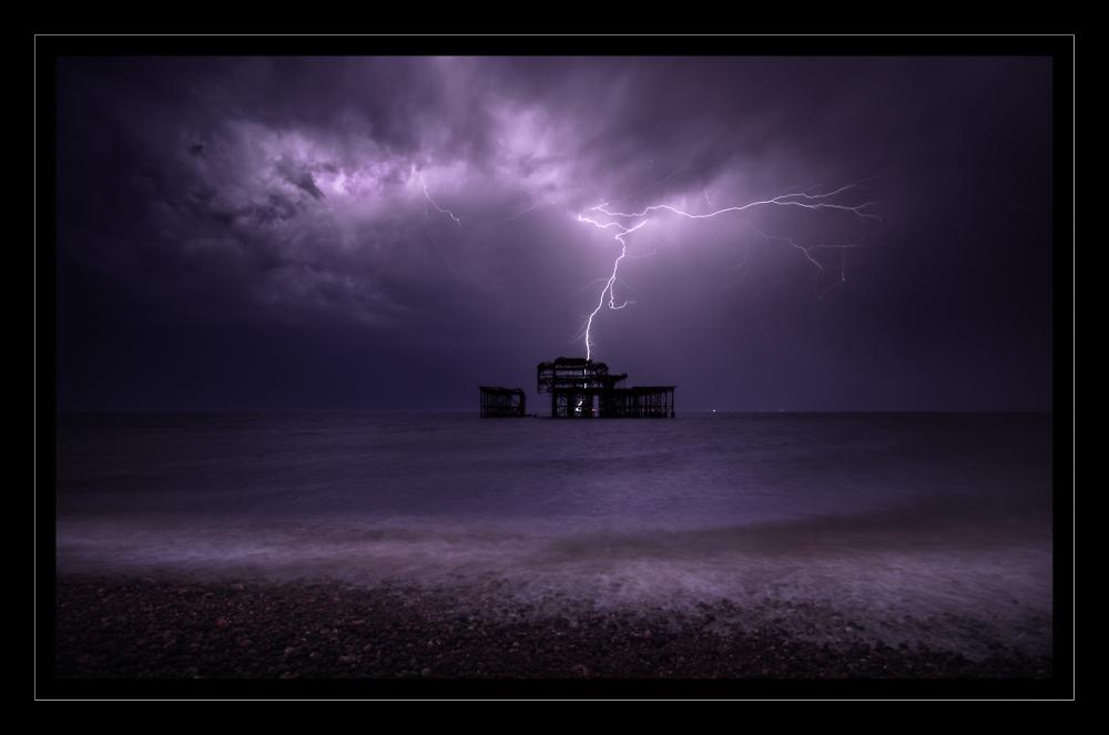 Stormy Brighton