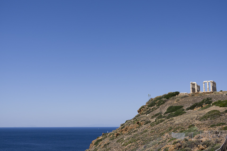 Temple of Poseidon at Cape Sounio