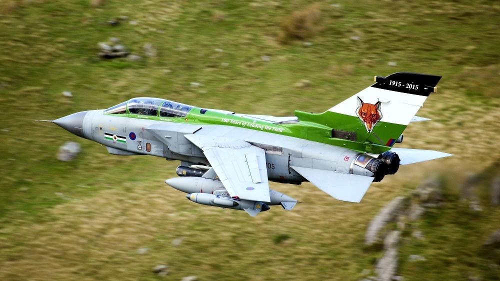 Tornado GR4 ZA405 Foxy