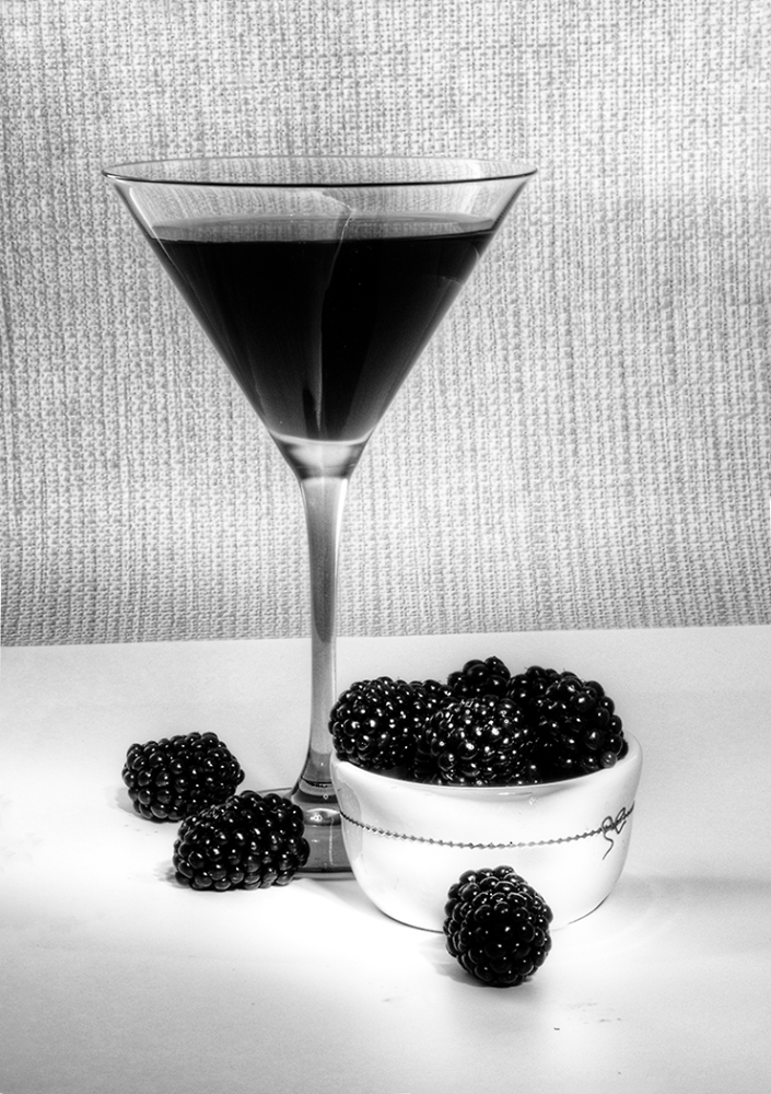 Blackberries and Juice