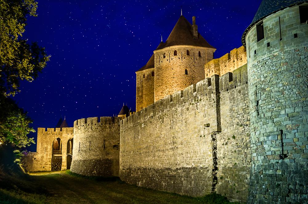 Carcassonne city walls