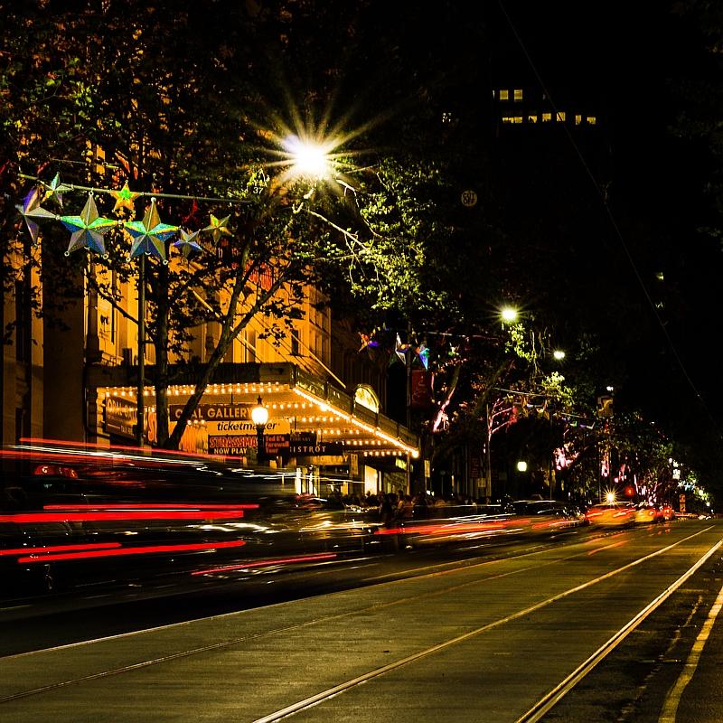 Five Weeks 'til Christmas: Collins Street, Melbourne