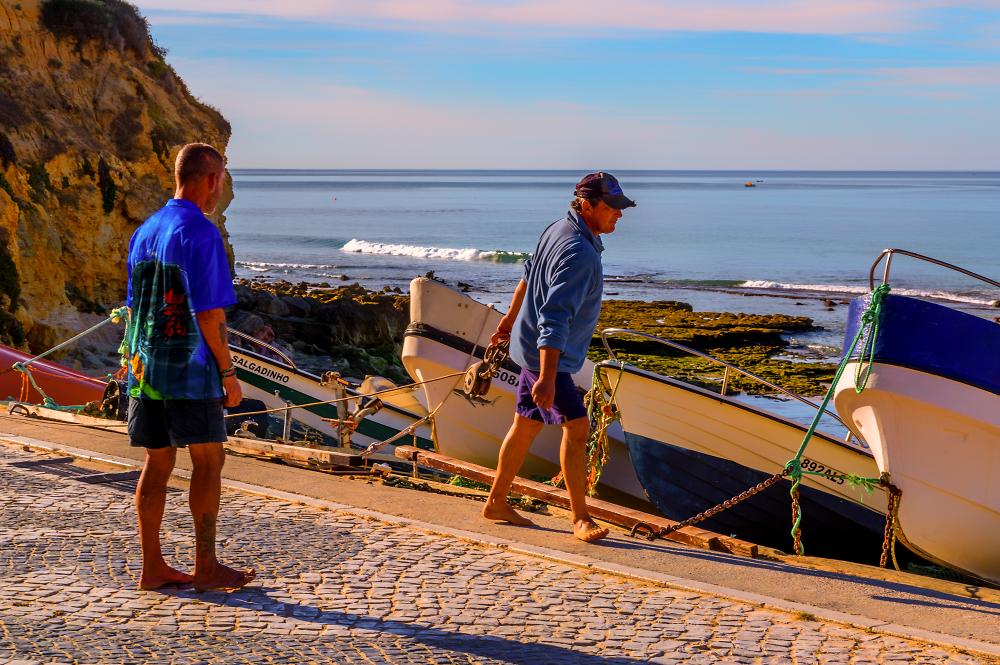 Portuguese Fishermen.