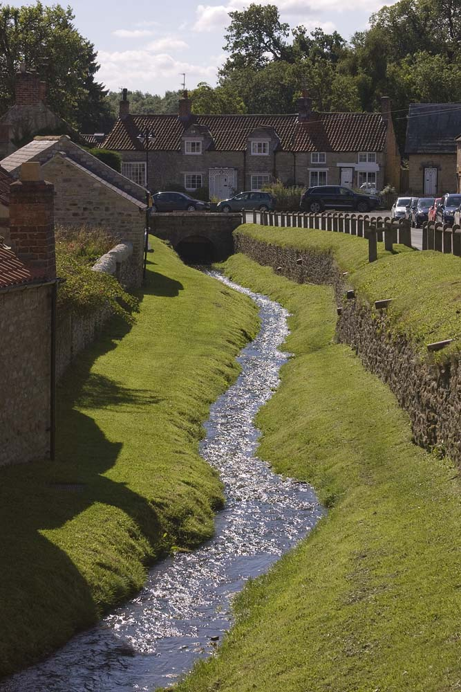 the stream at Helmsley