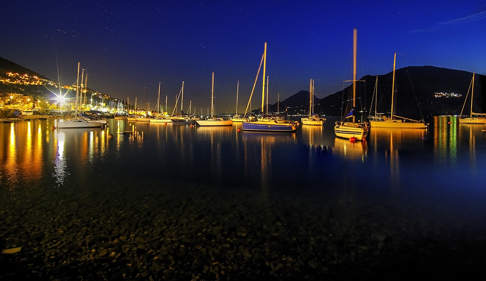 Blue Hour at Garda lake