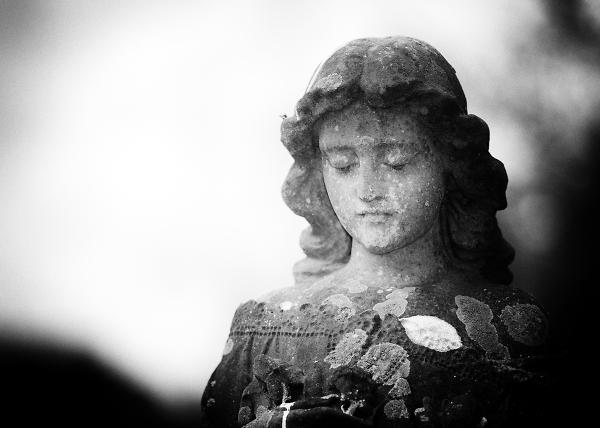 Churchyard Statue